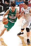 DESCRIZIONE : Caserta Lega A 2011-12 Otto Caserta Sidigas Avellino<br /> GIOCATORE : Alessandro Infanti<br /> SQUADRA : Sidigas Avellino<br /> EVENTO : Campionato Lega A 2011-2012<br /> GARA : Otto Caserta Sidigas Avellino<br /> DATA : 15/04/2012<br /> CATEGORIA : palleggio penetrazione<br /> SPORT : Pallacanestro<br /> AUTORE : Agenzia Ciamillo-Castoria/A.De Lise<br /> Galleria : Lega Basket A 2011-2012<br /> Fotonotizia : Caserta Lega A 2011-12 Otto Caserta Sidigas Avellino<br /> Predefinita :