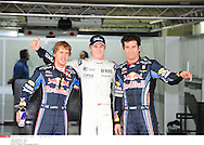 l'(07/11/2010) petite photo une *** Local Caption *** vettel (sebastian) - (ger) -..hulkenberg (nico) - (ger) -..webber (mark) - (aus) -