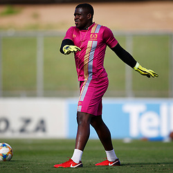 Patrick Name (GK) of Royal Eagles FC during the Premier Soccer League (PSL) promotion play-off  match between  Royal Eagles and Maritzburg United F.C. at the Chatsworth Stadium Durban.South Africa,29,05,2019