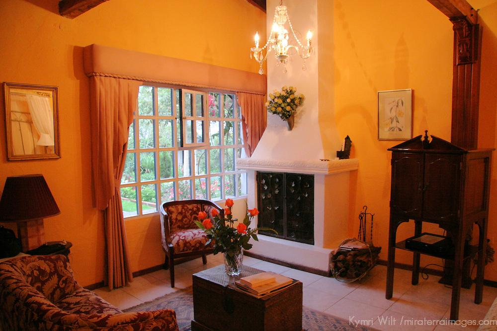 South America, Ecuador, Cotacachi. La Mirage Garden Hotel Room 2