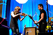 The Airborne Toxic Event performing at the Newport Music Hall in Columbus, OH on May 15, 2011