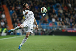 15.03.2015, Estadio Santiago Bernabeu, Madrid, ESP, Primera Division, Real Madrid vs UD Levante, 27. Runde, im Bild Real Madrid´s Daniel Carvajal // during the Spanish Primera Division 27th round match between Real Madrid CF and UD Levante at the Estadio Santiago Bernabeu in Madrid, Spain on 2015/03/15. EXPA Pictures © 2015, PhotoCredit: EXPA/ Alterphotos/ Victor Blanco<br /> <br /> *****ATTENTION - OUT of ESP, SUI*****