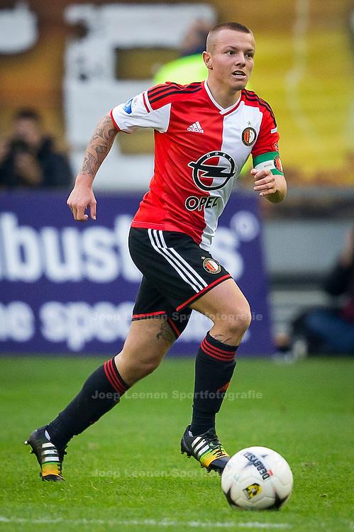 ARNHEM, Vitesse - Feyenoord, voetbal Eredivisie seizoen 2014-2015, 09-11-2014, Stadon de Gelredome, Feyenoord speler Jordie Clasie.