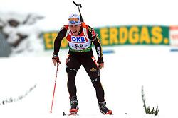 Toni Lang (GER) at Men 20 km Individual at E.ON Ruhrgas IBU World Cup Biathlon in Hochfilzen (replacement Pokljuka), on December 18, 2008, in Hochfilzen, Austria. (Photo by Vid Ponikvar / Sportida)