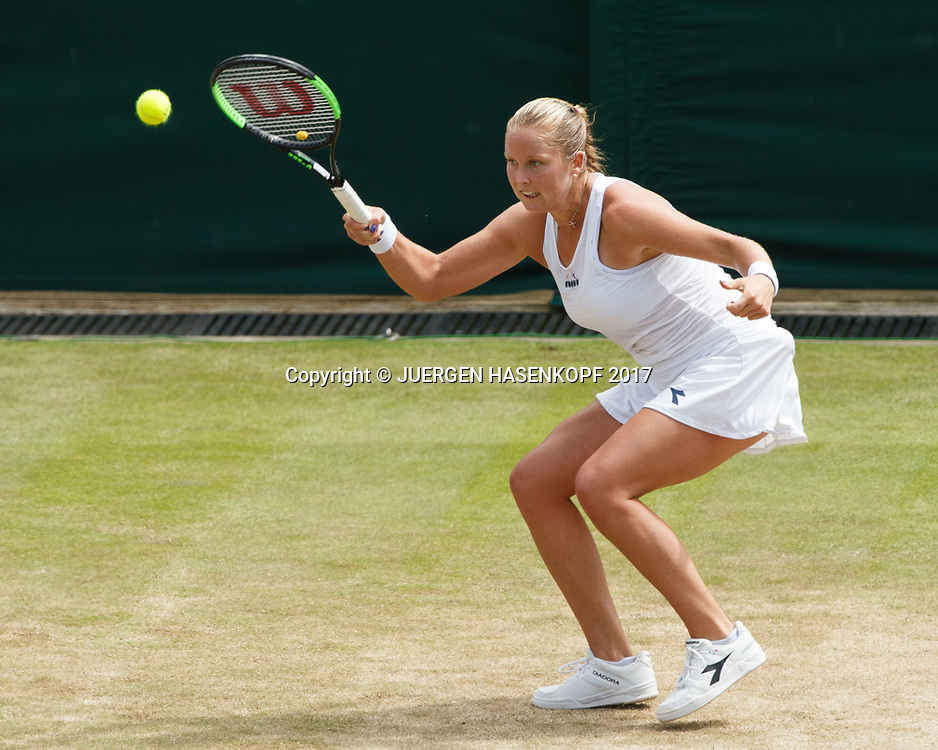 SHELBY ROGERS (USA)<br /> <br /> Tennis - Wimbledon 2017 - Grand Slam ITF / ATP / WTA -  AELTC - London -  - Great Britain  - 8 July 2017.