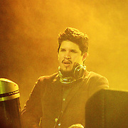 Thievery Corporation performs September 12th, 2011 at the Moore Theatre in Seattle, Washington