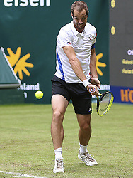 June 19, 2018 - Halle, Allemagne - French player Richard Gasquet  (Credit Image: © Panoramic via ZUMA Press)