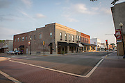 The heart of downtown Dayton, Tennessee. Dayton is the county seat in Rhea County