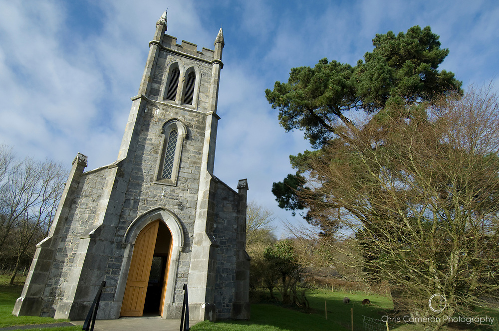 Church at Bunratty Castle, County Clare, Ireland.