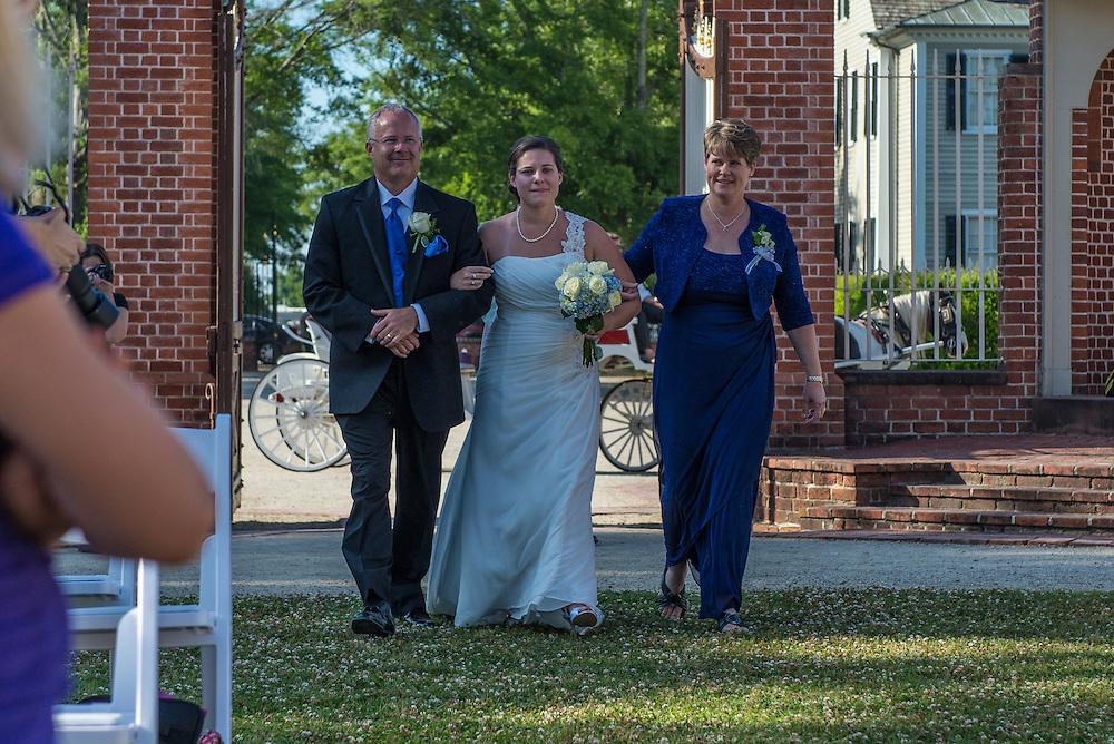 John and Sami Wedding | Tryon Palace Weddings