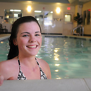3/17/11 -- HamptonInn3-17-11023 -- BATH, Maine. Hampton Inn guests enjoy fresh hot breakfasts, pool usage, meeting room access and friendly service at every interaction. Join the friendly staff at the Hampton Inn -- overlooking the Kennebec River -- for your next trip to Bath!  Photo © 2011 by Roger S. Duncan.