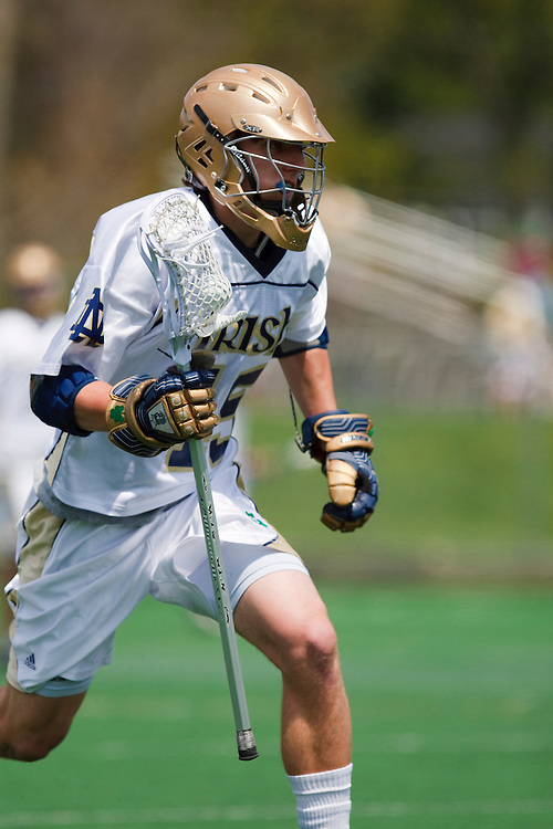 May 3, 2009:  #45 Max Pfeifer of Notre Dame in action during the NCAA Lacrosse game between Notre Dame and Ohio State at GWLL Tournament in Birmingham, Michigan. Notre Dame defeated OSU 16-7. (Credit Image: Rick Osentoski/Cal Sport Media)