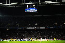 21-11-2012 VOETBAL: CL AFC AJAX - BORUSSIA DORTMUND: AMSTERDAM<br /> Ajax verliest kansloos van Dortmund met 4-1 / Scorebord met 3-0 op de borden, stadion sfeer<br /> ©2012-FotoHoogendoorn.nl