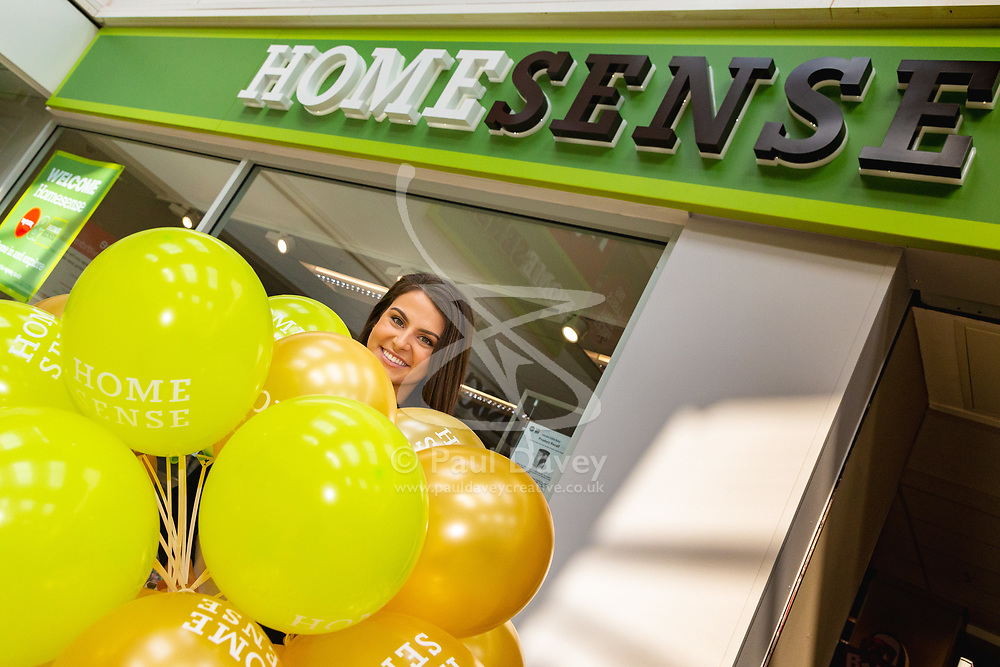 Homesense opening in Basingstoke Festival Place. Basingstoke, March 28 2019.