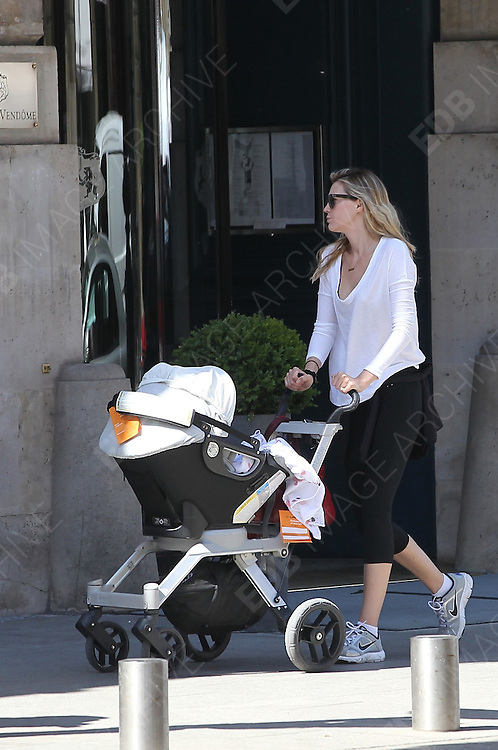 23.MAY.2011. PARIS<br /> <br /> SARAH FOSTER OUT AND ABOUT IN PARIS WITH HER SON.<br /> <br /> BYLINE: EDBIMAGEARCHIVE.COM<br /> <br /> *THIS IMAGE IS STRICTLY FOR UK NEWSPAPERS AND MAGAZINES ONLY*<br /> *FOR WORLD WIDE SALES AND WEB USE PLEASE CONTACT EDBIMAGEARCHIVE - 0208 954 5968*