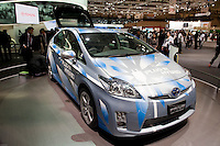 Toyota Prius at the Tokyo Motorshow, October 2009.