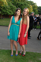 Left to right, sisters the HON.LANA PALUMBO, and the HON.PETRA PALUMBO at the annual Serpentine Gallery Summer Party in association with Swarovski held at the gallery, Kensington Gardens, London on 11th July 2007.<br /><br />NON EXCLUSIVE - WORLD RIGHTS
