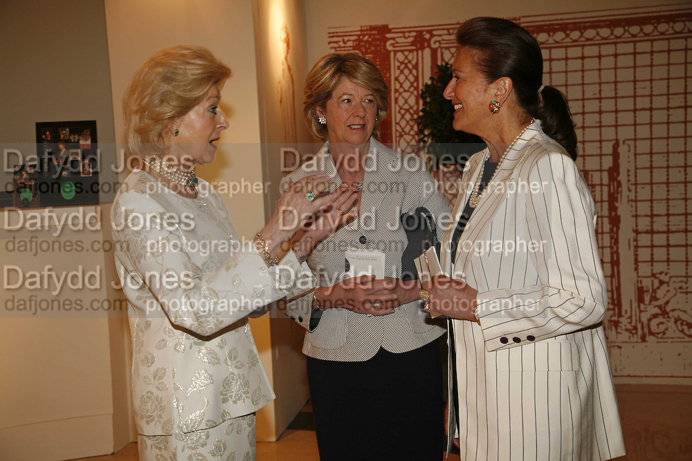 Princess Alexandra, Lady Nicholas Gordon-Lennox and Penny Marks, The opening  day of the Grosvenor House Art and Antiques Fair.  Grosvenor House. Park Lane. London. 14 June 2006. ONE TIME USE ONLY - DO NOT ARCHIVE  © Copyright Photograph by Dafydd Jones 66 Stockwell Park Rd. London SW9 0DA Tel 020 7733 0108 www.dafjones.com