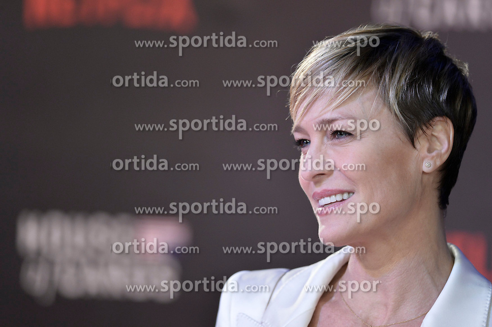 Robin Wright attends the World Premiere of 'House of Cards' Season 3 at The Empire Cinema on February 26, 2015 in London, England. EXPA Pictures © 2015, PhotoCredit: EXPA/ Photoshot/ Euan Cherry<br /> <br /> *****ATTENTION - for AUT, SLO, CRO, SRB, BIH, MAZ only*****