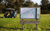 TEXEL - Hole 4 holebord. De Cocksdorp.  - Golfbaan De Texelse. COPYRIGHT KOEN SUYK