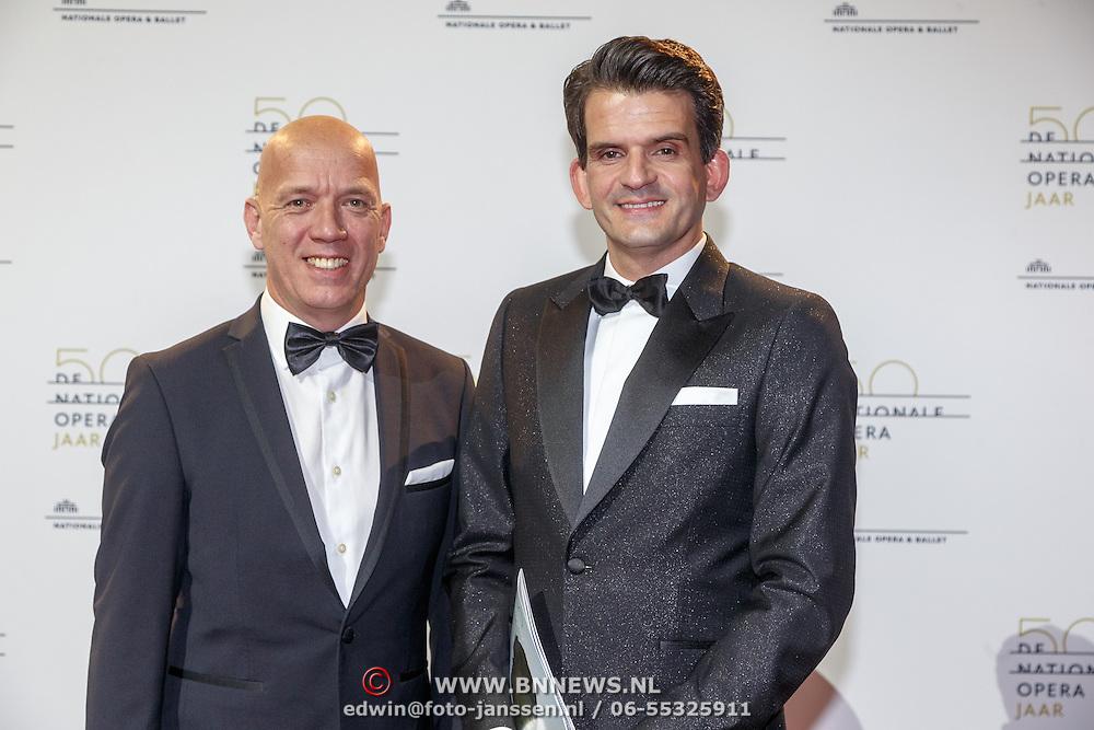 NLD/Amsterdam20151106 - Nationaal Opera Gala 2015, Maurice Wijnen en partner Ronald den Ouden