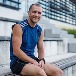 20160707: SLO, Marathon - Portrait of Uros Kralj - Joza