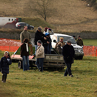 Watching the action at the Clare Hunt point to point in Bellharbour on Sunday.<br /> Photograph by Yvonne Vaughan