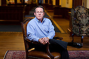 Larry Pope, president and chief executive officer of Smithfields Foods, poses for a portrait at his offices  in Smithfields, VA on October 18, 2011.