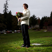Gloria Black's mother, who suffered from dementia, died after getting caught in the rails attached to her bed. Gloria Black, visiting her mother's gravesite at Riverview Cemetery in Portland, Ore., has become a crusader against the type of bed rail that has caused the deaths of her mother and dozens of others.