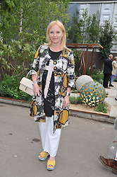 MIRANDA RICHARDSON at the 2013 RHS Chelsea Flower Show held in the grounds of the Royal Hospital, Chelsea on 20th May 2013.