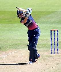 Lauren Winfield of England plays a cover drive - Mandatory by-line: Robbie Stephenson/JMP - 05/07/2017 - CRICKET - County Ground - Bristol, United Kingdom - England Women v South Africa Women - ICC Women's World Cup Group Stage