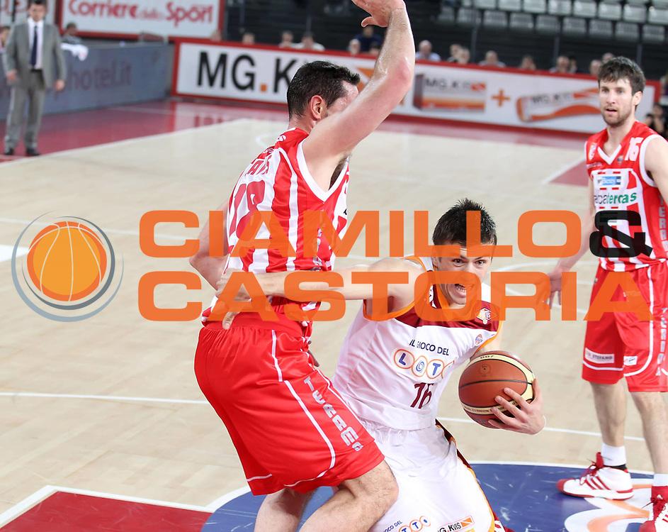 DESCRIZIONE : Roma Lega A 2010-11 Lottomatica Virtus Roma Banca Tercas Teramo<br /> GIOCATORE : Nemanja Gordic<br /> SQUADRA : Lottomatica Virtus Roma <br /> EVENTO : Campionato Lega A 2010-2011 <br /> GARA : Lottomatica Virtus Roma Banca Tercas Teramo<br /> DATA : 03/04/2011<br /> CATEGORIA : palleggio<br /> SPORT : Pallacanestro <br /> AUTORE : Agenzia Ciamillo-Castoria/ElioCastoria<br /> Galleria : Lega Basket A 2010-2011 <br /> Fotonotizia : Roma Lega A 2010-11 Lottomatica Virtus Roma Banca Tercas Teramo<br /> Predefinita :