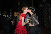 JADE PARFITT; ERIN O'CONNOR, British Fashion Awards Ceremony. Supported by Swarovski and organised by British Fashion Council. Lawrence Hall. Greycoat St. London SW1. 25 November 2008 *** Local Caption *** -DO NOT ARCHIVE-© Copyright Photograph by Dafydd Jones. 248 Clapham Rd. London SW9 0PZ. Tel 0207 820 0771. www.dafjones.com.