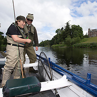 Reels On Heels, River Tay, Meikleour, Perthshire…26/27.06.16<br /> The River Tay hosted a charity weekend of women only salmon fishing called 'Reels on Heels' aimed at getting more women hooked on salmon fishing as well as raising funds for Angling for Youth Development (AFYD). Meikleour Fishings owner Claire Mercer-Nairne and guests from across Perthshire, Aberdeenshire, Moray and Skye enjoyed fishing for salmon on the banks of the Tay and from boats being guided by ghillies Calum McRoberts and John Ross and specialist advice from fishing experts Tom Brown and Cliff Johnston and Malcolm Anderson. The weekend raised over £2000 for AFYD.<br />