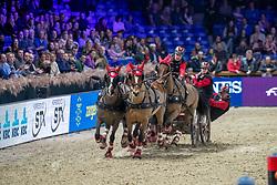 Voutaz Jerome, SUI, Belle du Peupe CH, Flore CH, Folie des Moulins CH, Leon<br /> Jumping Mechelen 2019<br /> © Hippo Foto - Dirk Caremans<br />  29/12/2019