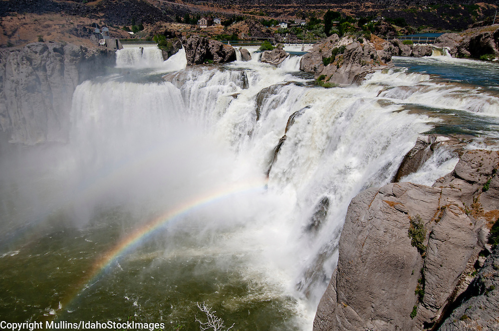 Shoshone Falls on the Snake River in southcentral Idaho during spring runoff
