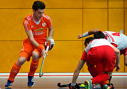 LEIZPIG - WC HOCKEY INDOOR 2015<br /> NED v POL (Pool B)<br /> Foto: BALK Lars<br /> FFU PRESS AGENCY COPYRIGHT FRANK UIJLENBROEK
