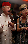 Sir Terence and Lady Conran.  Andy & Patti Wong's Chinese New Year party to celebrate the year of the Rooster held at the Great Eastern Hotel, Liverpool Street, London.29th January 2005. The theme was a night of hedonism in 1920's Shanghai. . ONE TIME USE ONLY - DO NOT ARCHIVE  © Copyright Photograph by Dafydd Jones 66 Stockwell Park Rd. London SW9 0DA Tel 020 7733 0108 www.dafjones.com