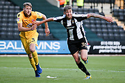 Notts County forward Jonathan Stead (30) looks to attack the corner during the EFL Sky Bet League 2 match between Notts County and Morecambe at Meadow Lane, Nottingham, England on 9 September 2017. Photo by Simon Davies.
