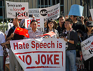 Chinese American protest against ABC