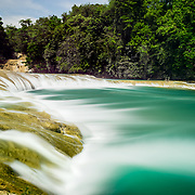 Waterfall in Chiapas State, Mexico,