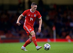 CARDIFF, WALES - Thursday, October 11, 2018: Wales' Connor Roberts during the International Friendly match between Wales and Spain at the Principality Stadium. (Pic by Laura Malkin/Propaganda)