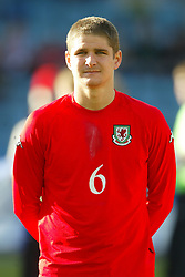 OSLO, NORWAY - Thursday, May 27, 2004:  Wales' Carl Robinson pictured before the International Friendly match at the Ullevaal Stadium, Oslo, Norway. (Photo by David Rawcliffe/Propaganda)