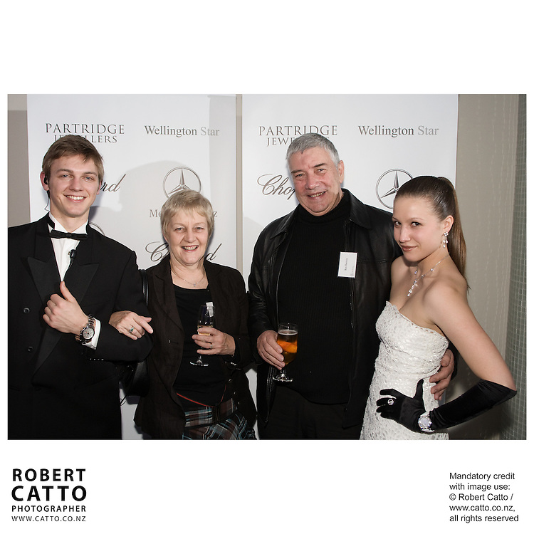Wellington Star Mercedes / Partridge Jewellers / Chopard 'Thomas Crown Affair' event, Oceania Room, Te Papa, Wellington.  Organised by Clockwork Group.