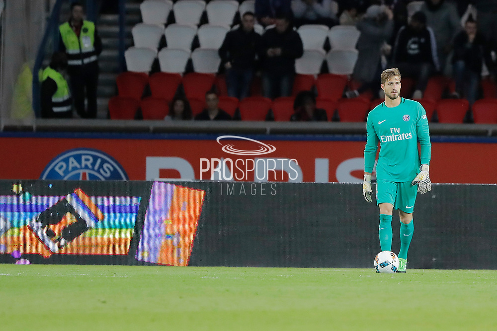 Kevin Trapp (PSG) during the French Championship Ligue 1 football match between Paris Saint-Germain and SM Caen on May 20, 2017 at Parc des Princes stadium in Paris, France - Photo Stephane Allaman / ProSportsImages / DPPI