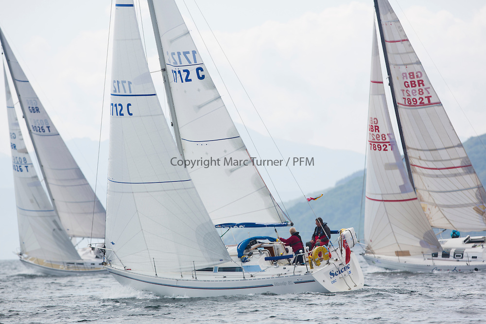 Day three of the Silvers Marine Scottish Series 2016, the largest sailing event in Scotland organised by the  Clyde Cruising Club<br /> Racing on Loch Fyne from 27th-30th May 2016<br /> <br /> 1712C, Selene, Ian &amp; Mgt Devonald, Delting Boating Club, Moody 31 Mk2<br /> <br /> <br /> Credit : Marc Turner / CCC<br /> For further information contact<br /> Iain Hurrel<br /> Mobile : 07766 116451<br /> Email : info@marine.blast.com<br /> <br /> For a full list of Silvers Marine Scottish Series sponsors visit http://www.clyde.org/scottish-series/sponsors/