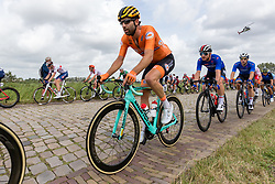 LEEZER Thomas from NETHERLANDS during Men Elite Road Race 2019 UEC European Road Championships, Alkmaar, The Netherlands, 11 August 2019. <br /> <br /> Photo by Thomas van Bracht / PelotonPhotos.com <br /> <br /> All photos usage must carry mandatory copyright credit (Peloton Photos | Thomas van Bracht)