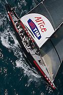 SPAIN, Valencia, April 6 2007,Louis Vuitton Act 13, Race 4, Luna Rossa, ITA 94