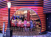 Royal Caribbean, Harmony of the Seas, one of the bar on the Royal Promenade