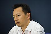 April 15-17, 2016: Chinese Grand Prix, Shanghai, Yusuke Hasegawa, Head of Honda F1